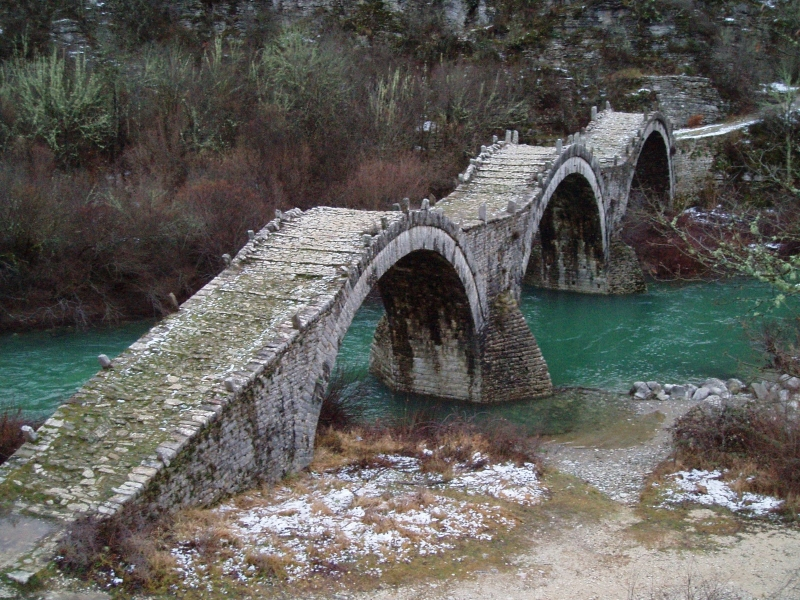 The bridge of Kalogairiko